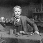 Inventor Thomas Alva Edison - Addled youngster or genius Inventor in the making?